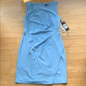 KARL LAGERFELD / Baby Blue Fitted Dress